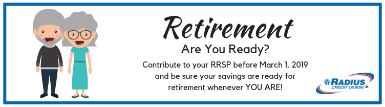 RRSP Deadline is March 1, 2019!