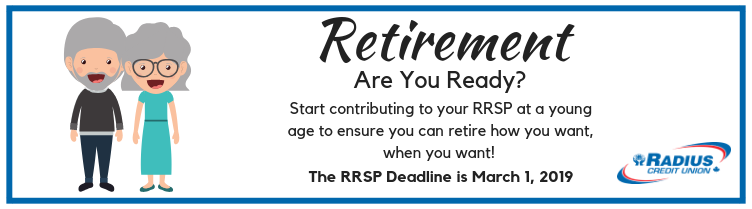 RRSP Deadline is March 1, 2019